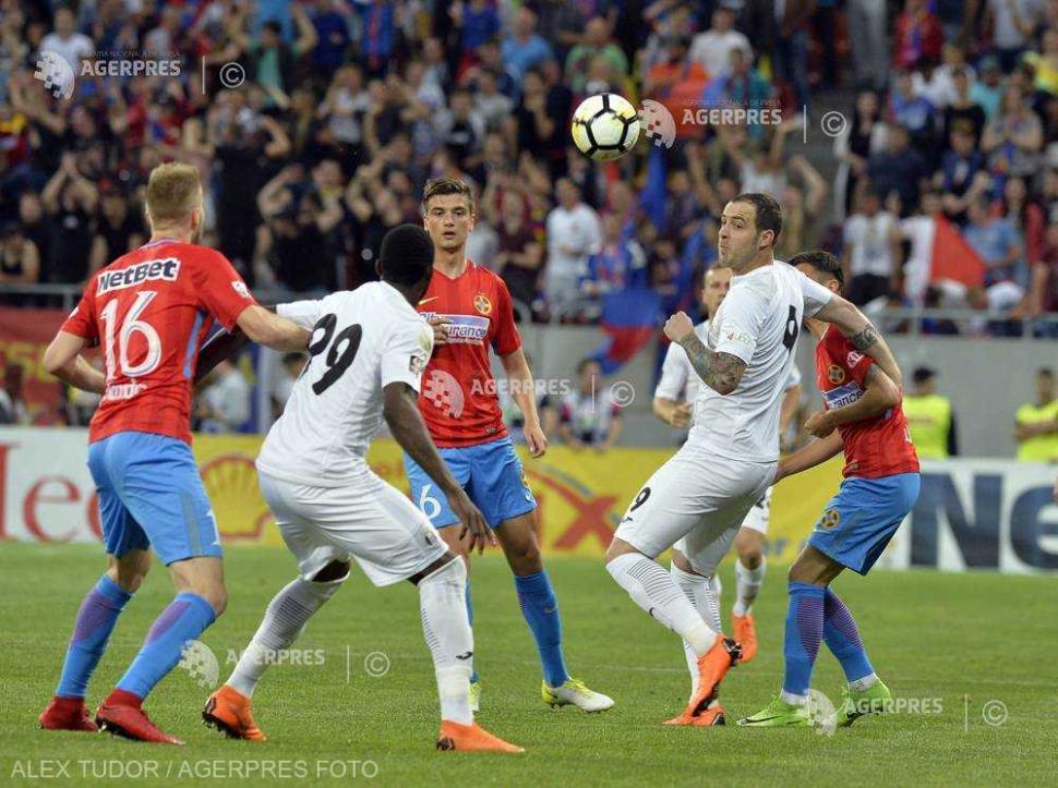 Liga 1, play-off, etapa a 4-a. FCSB - Astra Giurgiu (ora ...  |Astra- Fcsb